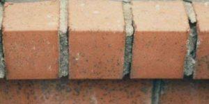 Allège en brique